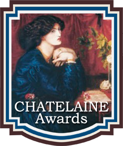 book award for Romance Novels The Chatelaine Awards