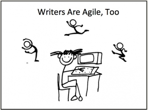 Authors Are Agile Also