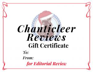 Chanticleer Gift Certificates